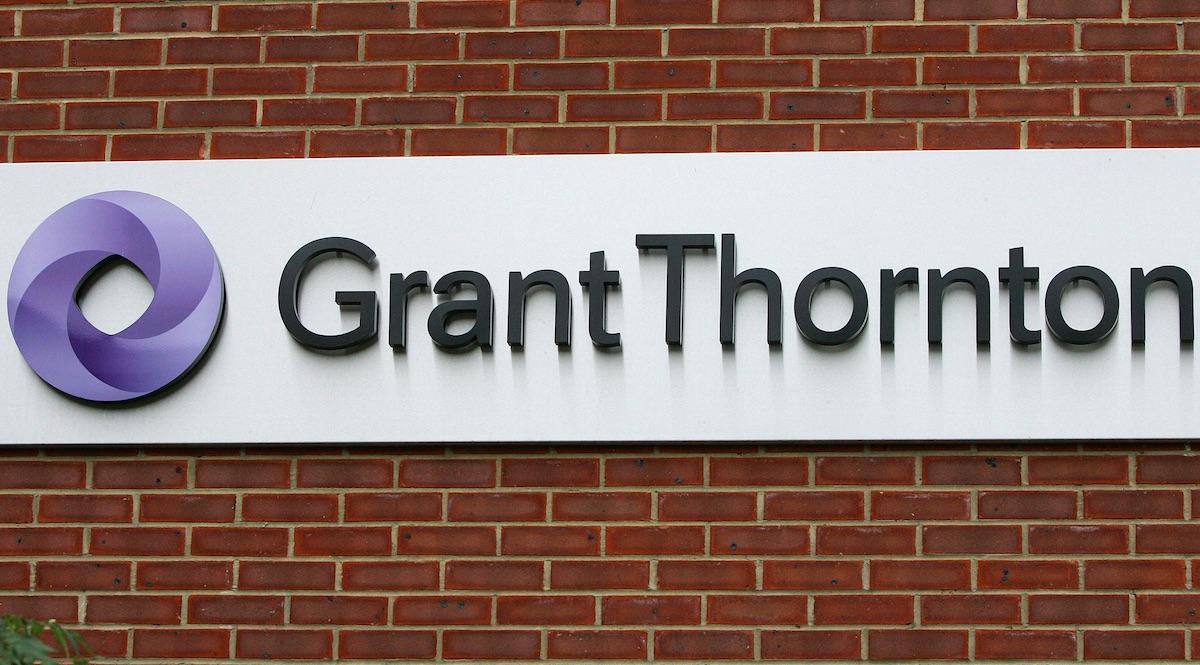 Logotipo de la firma Grant Thornton, que audita al FROB.