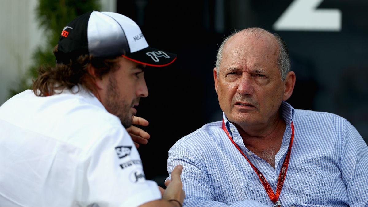 Ron Dennis le da un aprobado raspado a la temporada 2016 de McLaren. (Getty)