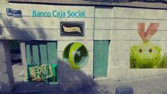 Banco Expropiado en Madrid. (Foto: Twitter)