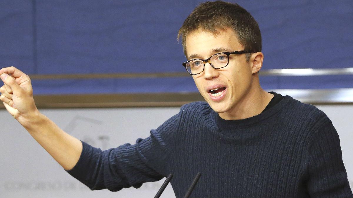 El portavoz parlamentario de Podemos, Iñigo Errejón (Foto: Efe)