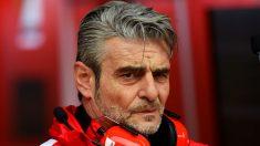 Arrivabene podría tener las horas contadas en Ferrari tras la mala temporada 2016 del equipo. (Getty)