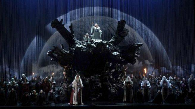 El Teatro Real vuelve a acoger tras 102 años de ausencia en cartel la ópera 'Norma' de Bellini