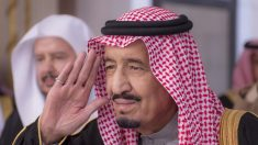 Salmán bin Abdulaziz, rey de Arabia Saudí.