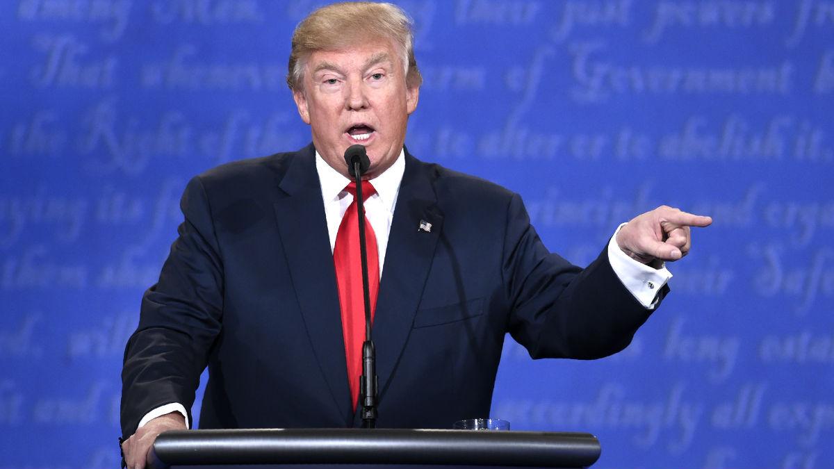 Donald Trump en una reciente imagen (Foto: AFP).