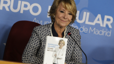 La portavoz del PP en Madrid capital, Esperanza Aguirre. (Foto: EFE)