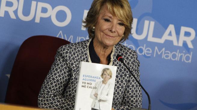 Aguirre carga contra la España autonómica: «Se debería haber diferenciado a Cataluña y Euskadi»