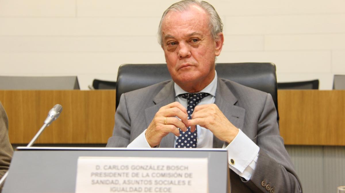 Carlos González Bosch. Fuente: CEOE