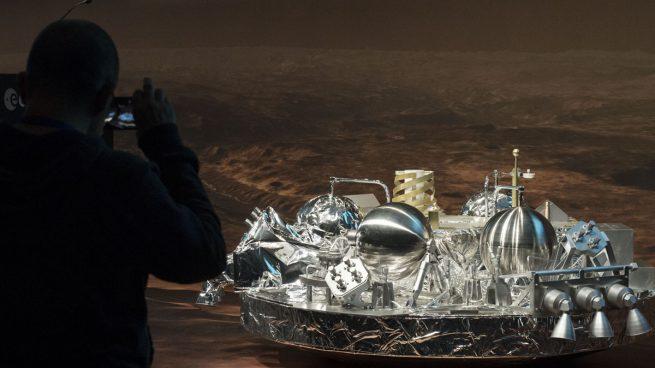 La nave europea se estrella con la superficie de Marte y explotó en el impacto