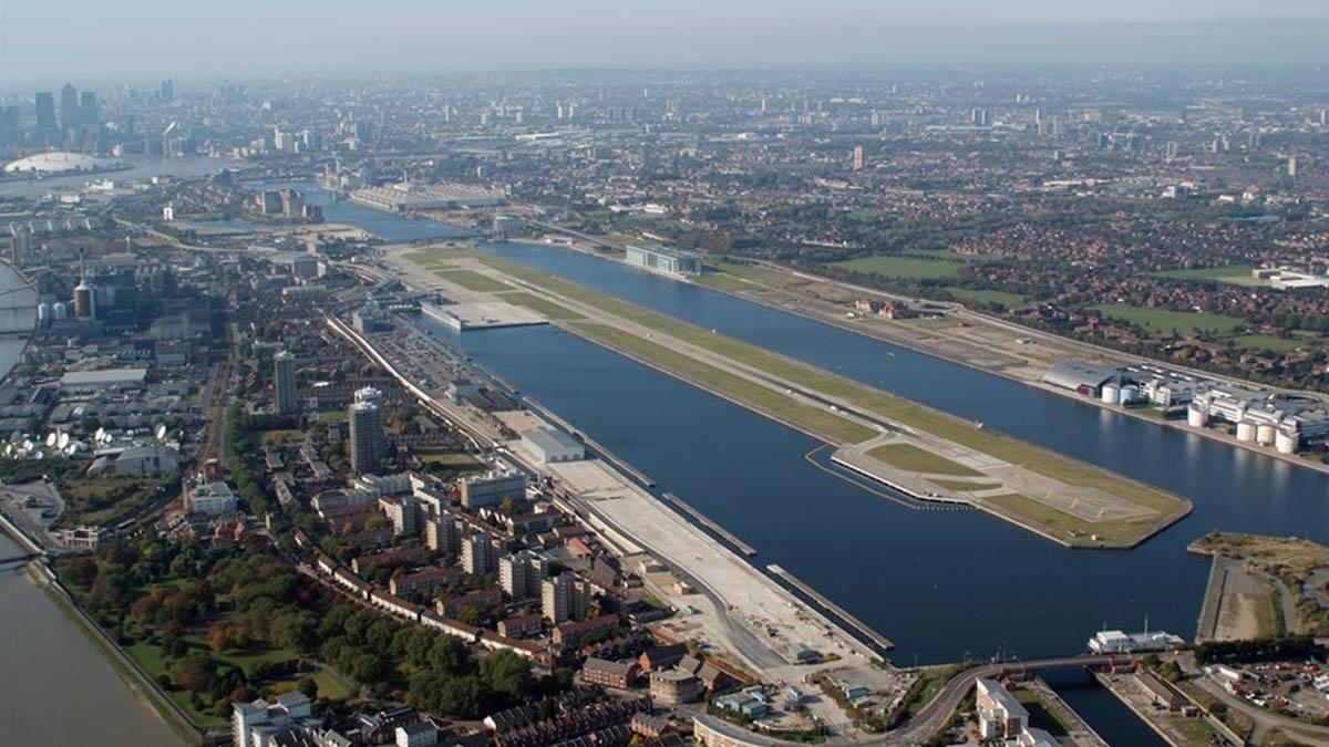 Aeropuerto de la Ciudad de Londres.