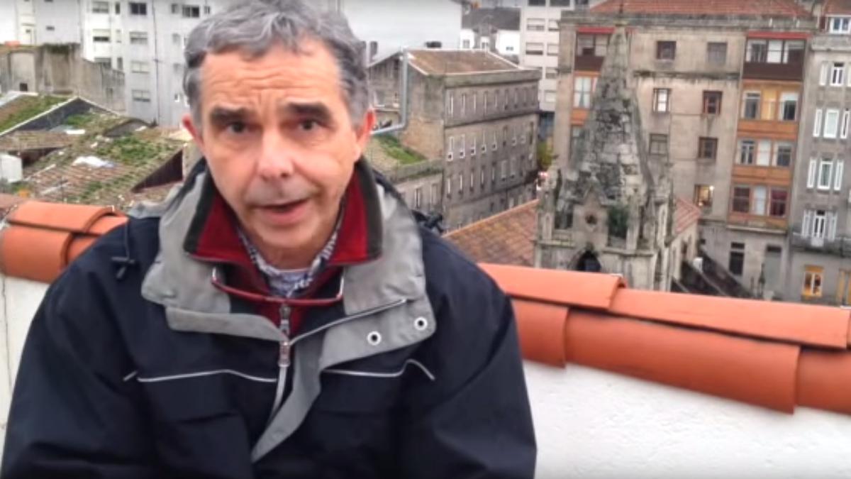 El abogado de los terroristas del GRAPO Juan Manuel Olarieta.