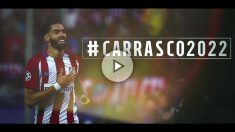 Carrasco renueva con el Atlético. (atleticodemadrid.com)