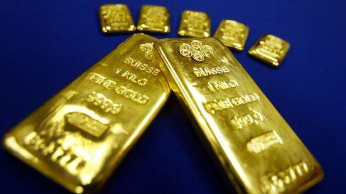 Lingotes de oro. (Foto: Getty)