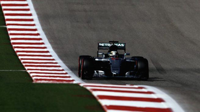 Lewis Hamilton se hizo con la pole en Austin (Getty)