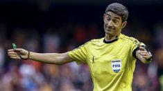 Undiano Mallenco no estuvo acertado en Mestalla. (EFE)