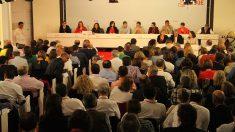El Comité Federal del PSOE, que se celebra este domingo.