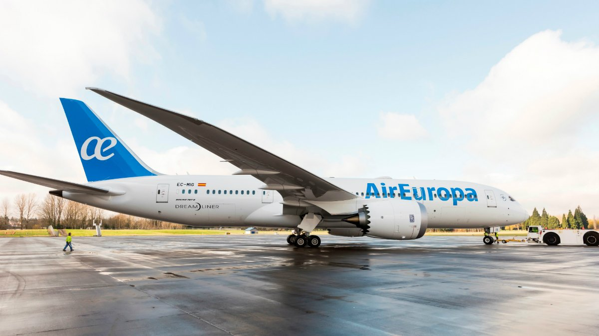 Boeing 787 Dreamliner de Air Europa.