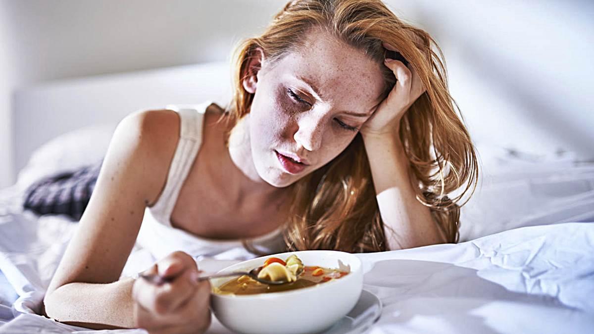 He dejado de comer y no sé por qué