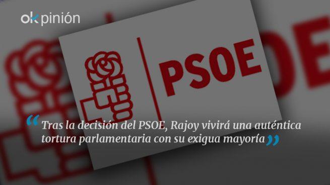 PSOE: bajo el diluvio