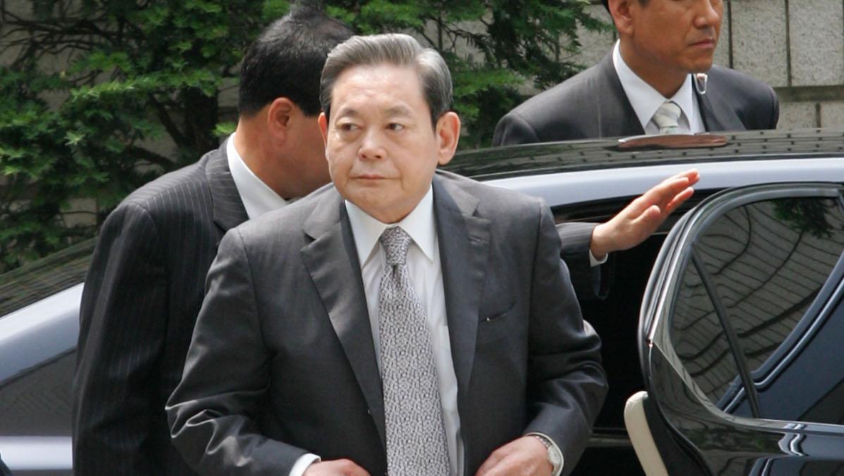 Lee Kun-Hee, presidente de Samsung (Foto: Getty)