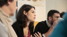 Isabel Serra, de miembro la corriente Anticapitalistas en Podemos. (Foto: JP)