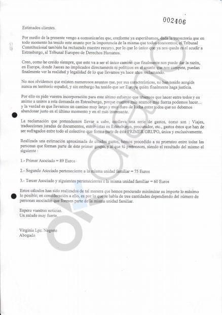 El juez tiene cartas de López Negrete pidiendo a clientes de Afinsa el dinero que se les robó