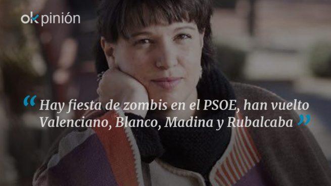 Fiesta de los muertos vivientes en el PSOE