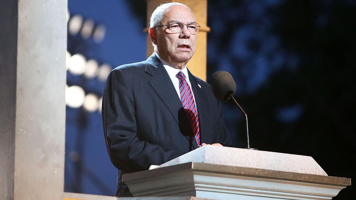 El ex secretario de Estado Colin Powell (Foto: AFP)