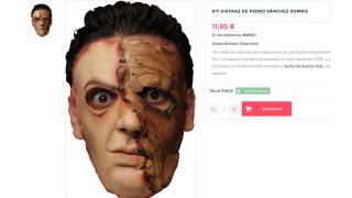 Disfraz de Pedro Sánchez Zombie (Disfrazmanía)