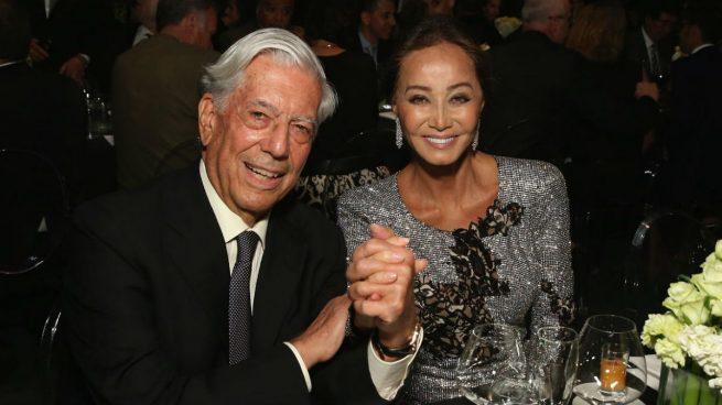 Isabel Preysler niega una crisis con Mario Vargas Llosa