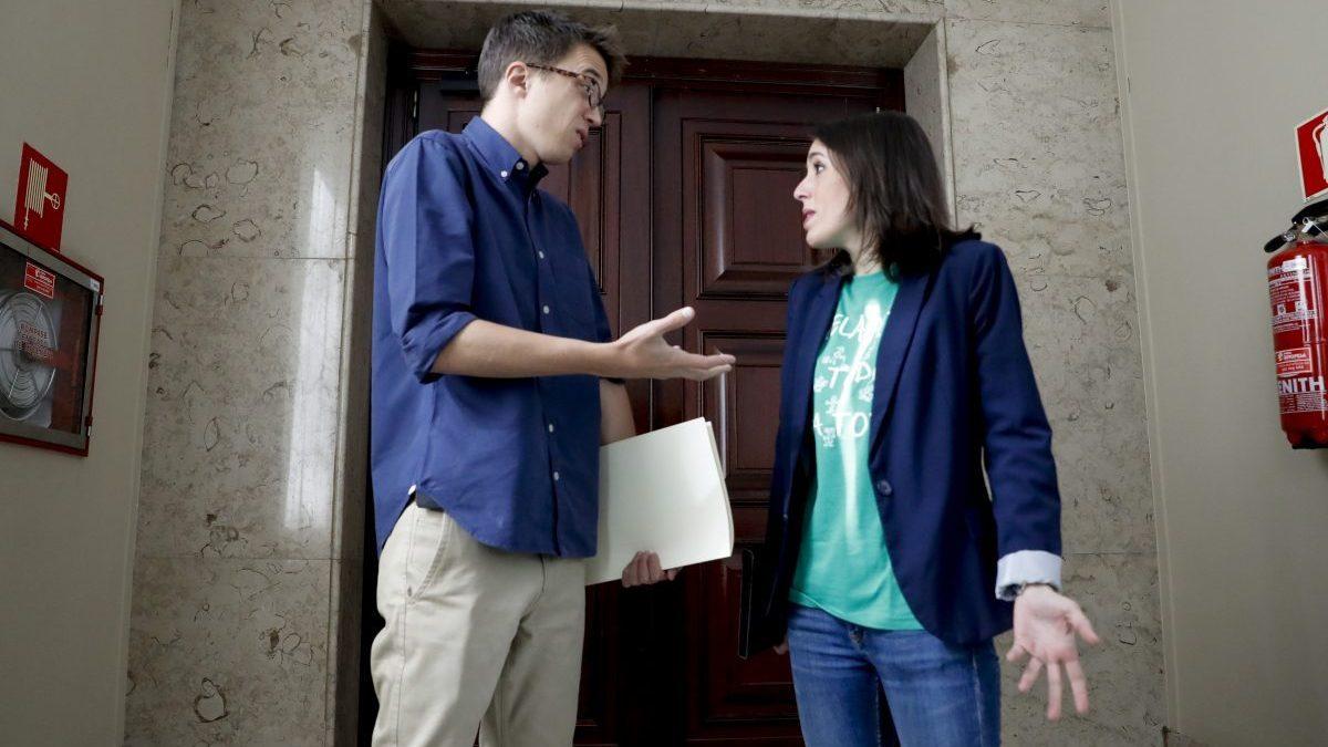 Íñigo Errejón e Irene Montero. (Foto: EFE)