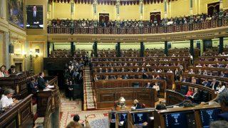 Vista panorámica del Congreso de los Diputados (Foto: Efe).