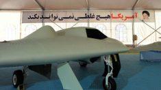 Imagen de un dron iraní desarrollado mediante ingeniería inversa tras capturar un modelo americano.