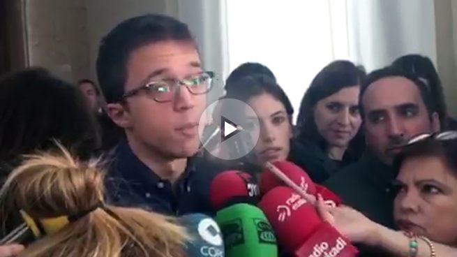 'Rodea el Congreso' divide aún más a Podemos: Errejón se desvincula del escrache