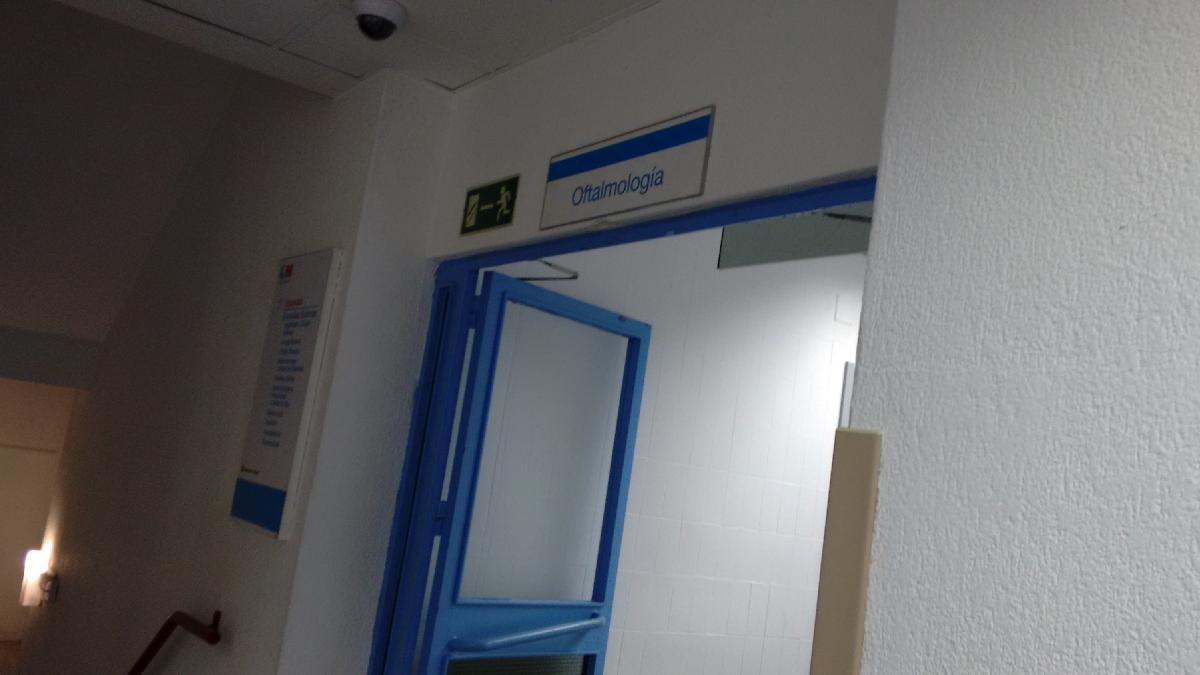 Dependencias del Hospital Universitario La Princesa.