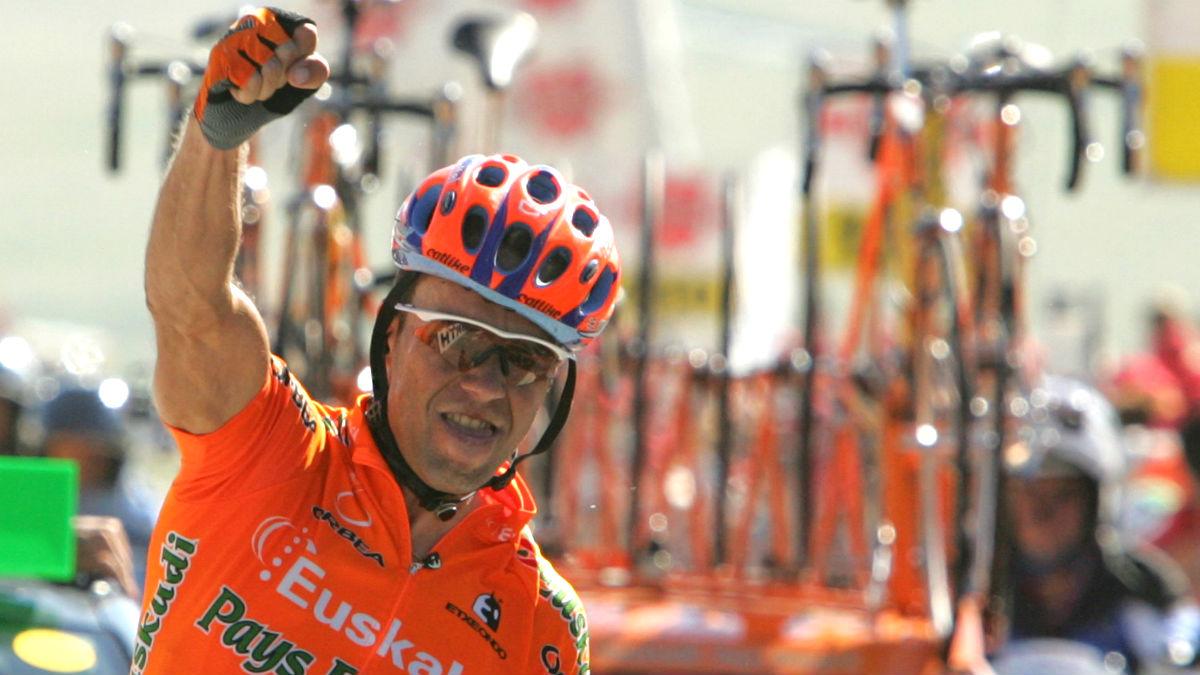 Aitor González en una imagen de 2004 (Foto: AFP).