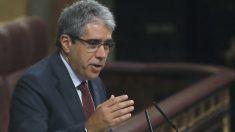 El portavoz del Partit Demòcrata Europeu Català (PDECat), Francesc Homs (Foto: Efe)