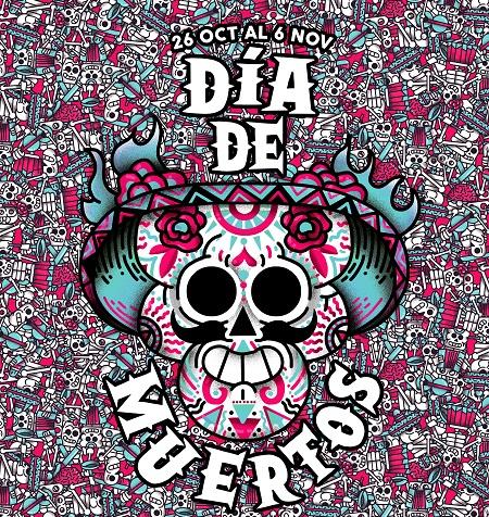 Ilustración del Día de los Muertos. (Foto: CC)