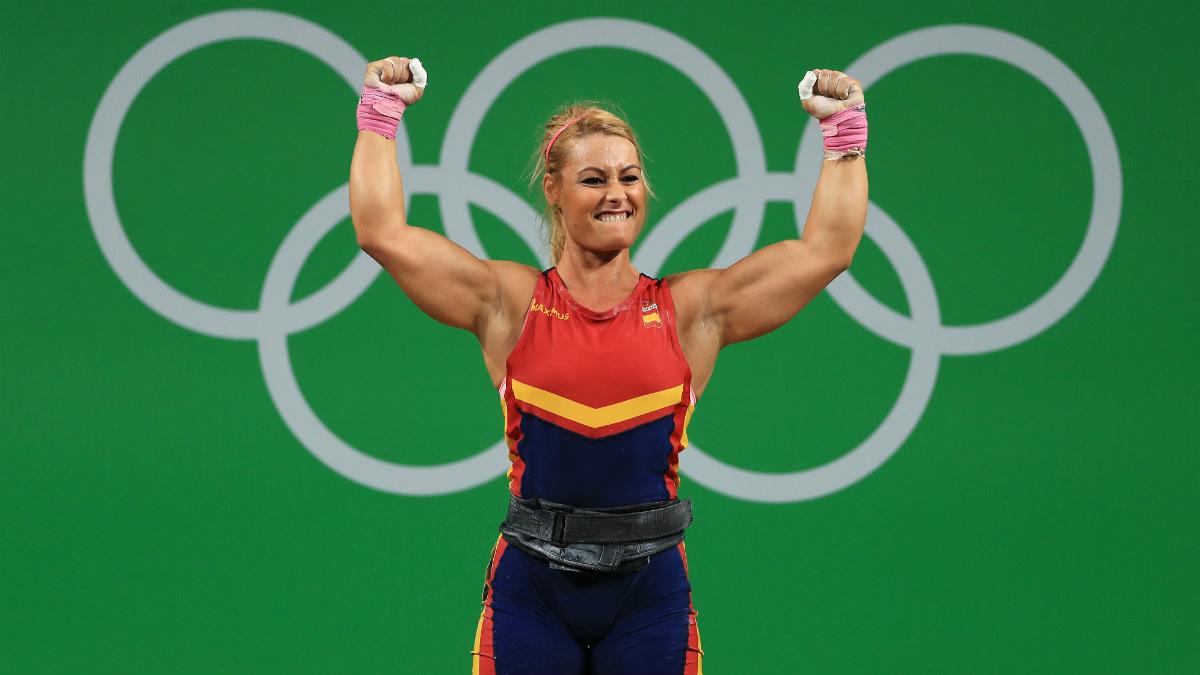 Lydia Valentín durante los Juegos Olímpicos de Río 2016. (Getty)