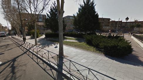 Plaza que Sánchez Mato ha nombrado 'Brigadas Internacionales'. (Foto: GM)