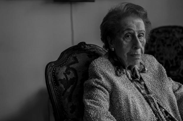 Irene Bergam en su apartamento de Manhattan (Foto: Getty)