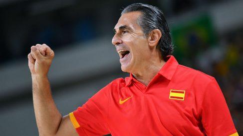 Scariolo renueva con España. (AFP)