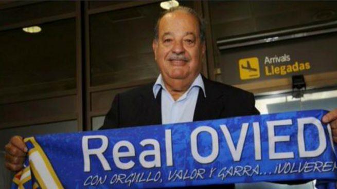 De las 'blue chips' al 'blue team': el negocio de Carlos Slim en el Real Oviedo