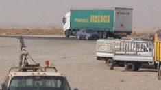 Camión de Transportes Bidasoa en Mosul.