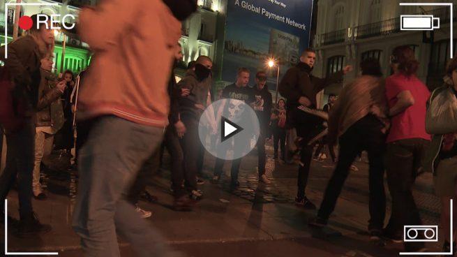 CiudadanOK agredido por participantes en el escrache de 'Rodea al Congreso'
