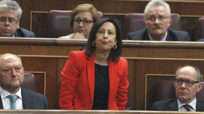 Margarita Robles deja claro que no es momento de otra moción de censura días antes de las reuniones PSOE-Podemos