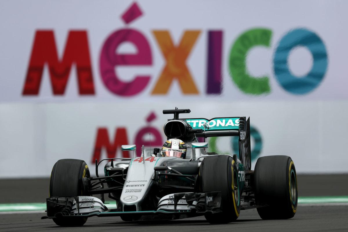 Lewis Hamilton se hizo con la pole en el GP de México. Alonso, fuera de la Q3 (Getty)