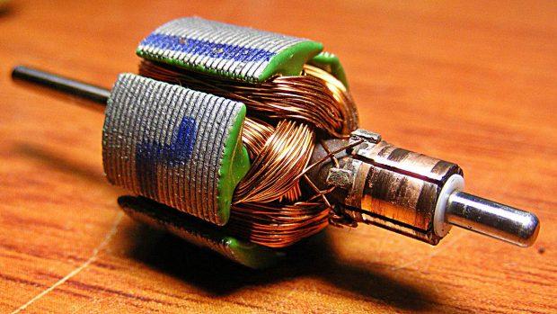 motor electrico como funciona partes