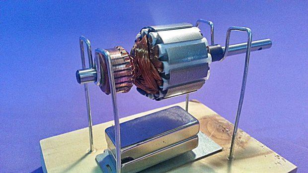 motor electrico como funciona