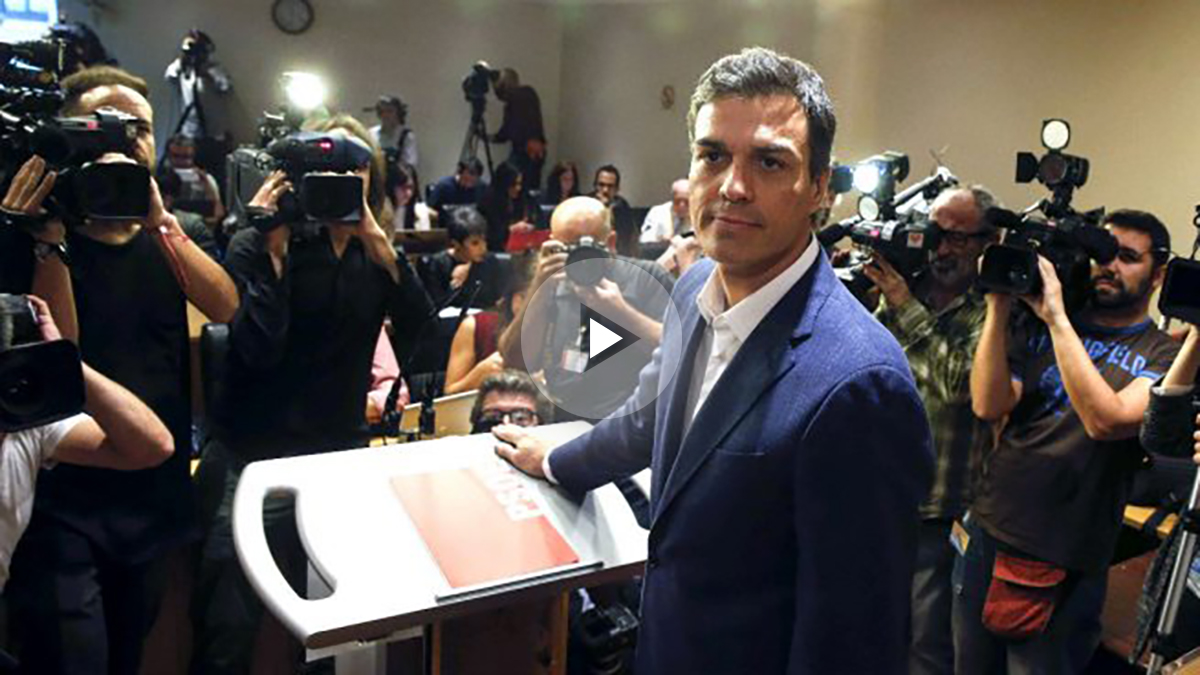 Pedro Sánchez, este sábado, en el Congreso.