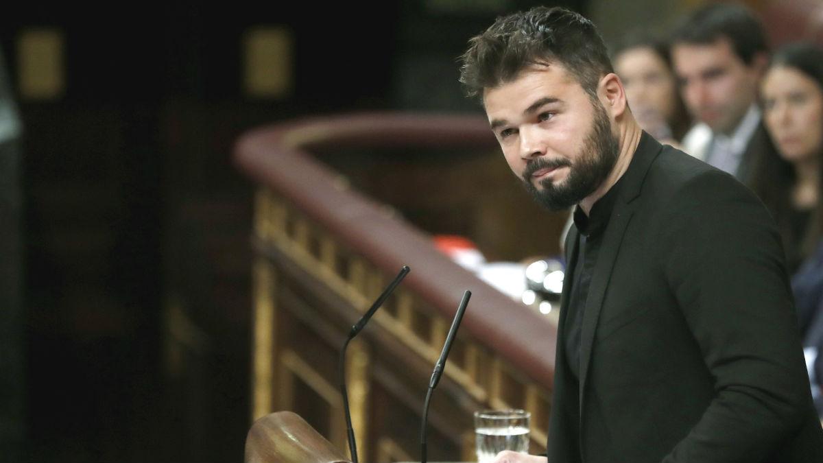 El portavoz adjunto de ERC, Gabriel Rufián.